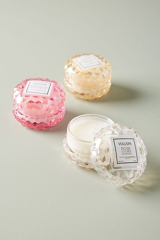 Voluspa Rose Mini Candle