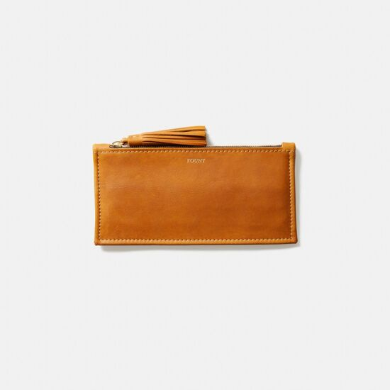THE FINLEY WALLET IN GOLDENROD