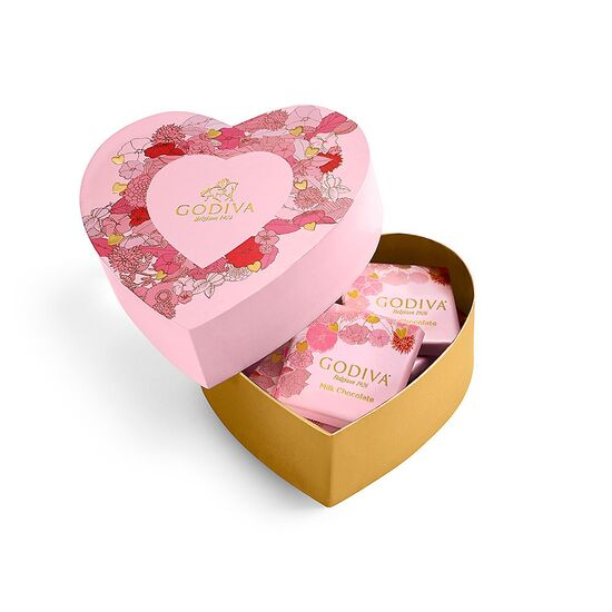 GODIVA Chocolate Mini Heart Box