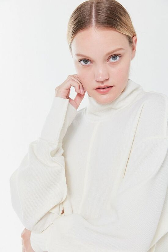 UO Charlie Slouchy Turtleneck Sweater