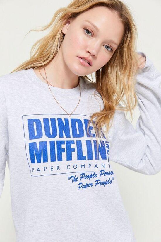 Dunder Mifflin Crew Neck Sweatshirt