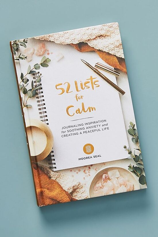 52 Lists for Calm Journal