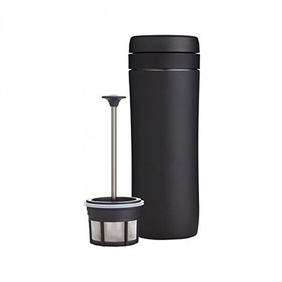 Stainless Steel Vacuum Insulated Travel Coffee French Press