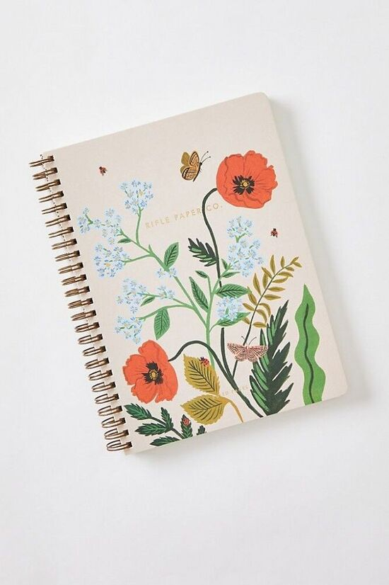 Rifle Paper Co. Iceland Poppy Spiral Notebook
