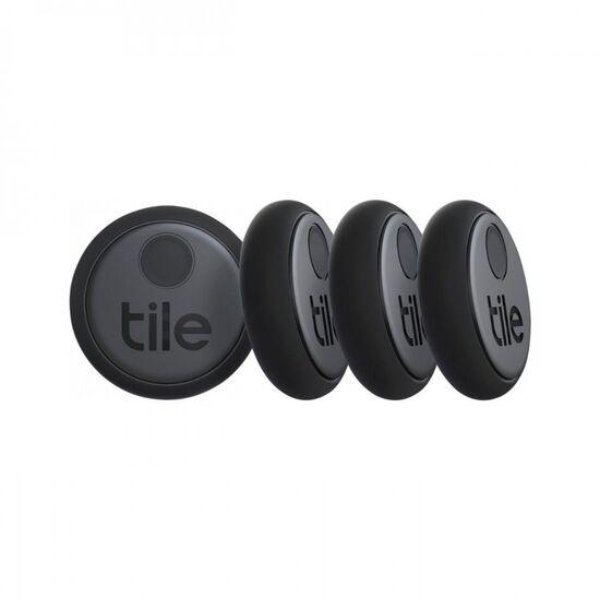 Tile - 2020 Sticker Item Tracker (4-Pack) - Black