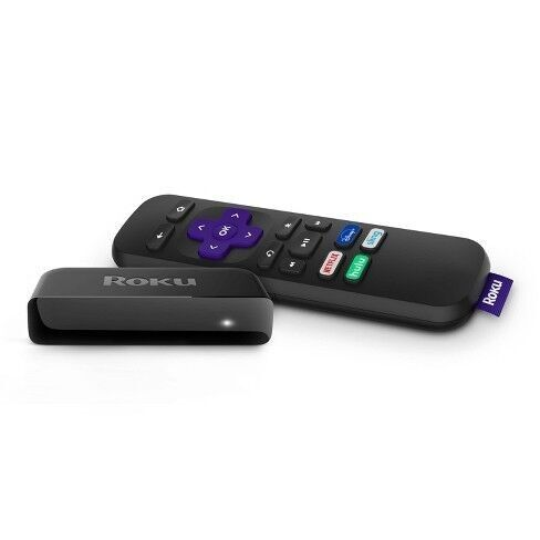 Roku - Express HD Streaming Media Player - Black