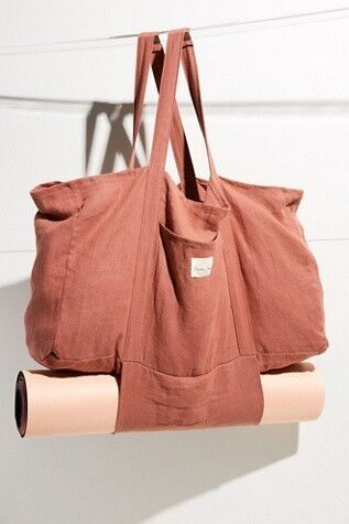 Sunshine Series Hemp Yoga Tote