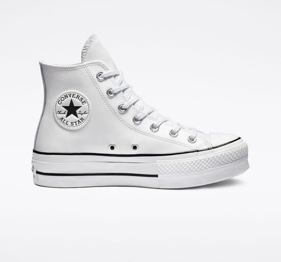 Clean Leather Platform Chuck Taylor All Star