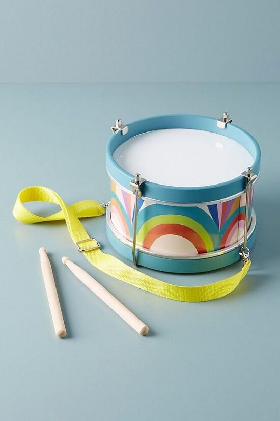 Kids Wooden Drum Toy