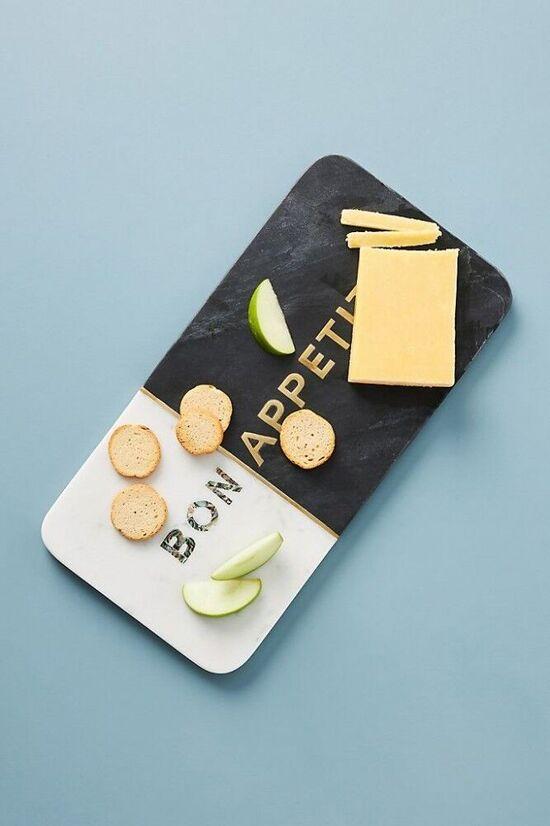 Bon Appetit Cheese Board