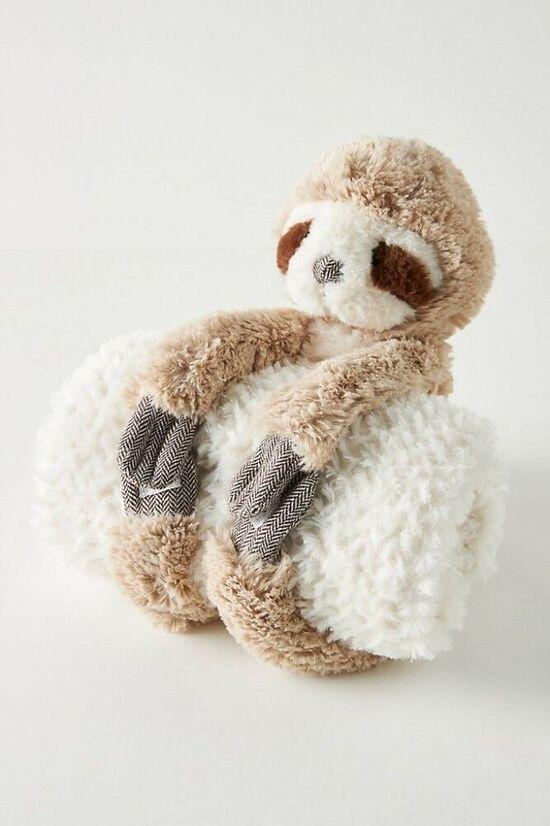 Sloth Baby Blanket