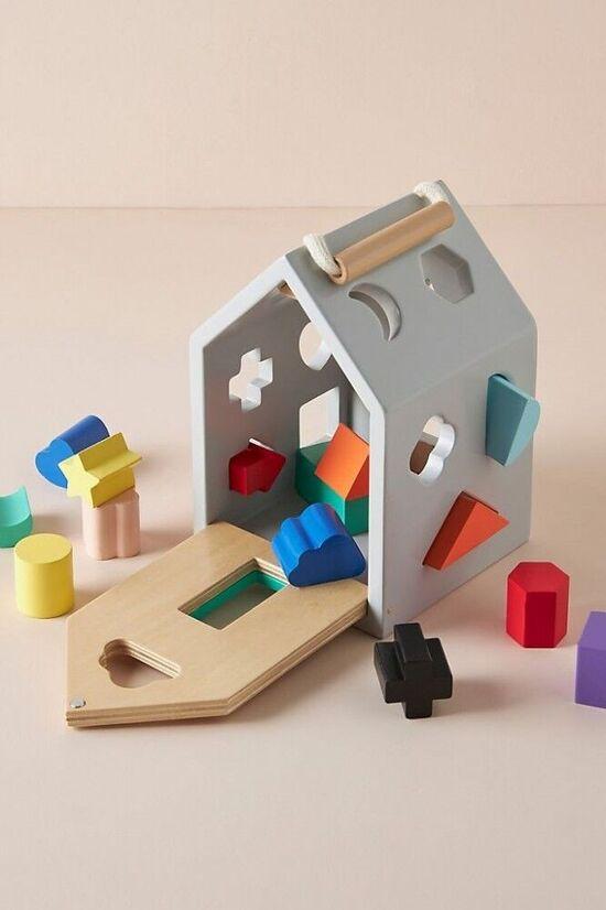 House Shape Sorter Toy Set