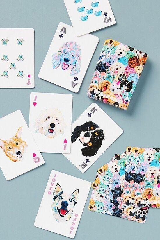 Megan Carn Dog Playing Cards