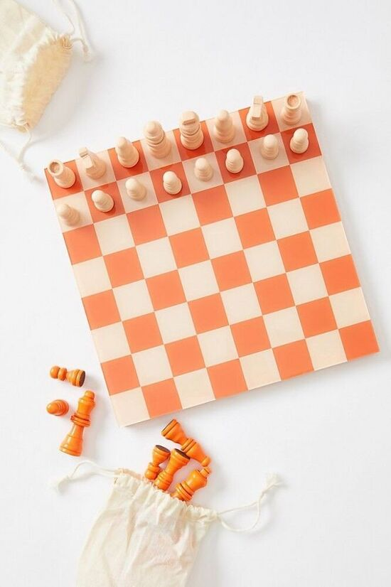 Printworks for Anthropologie Chess Game