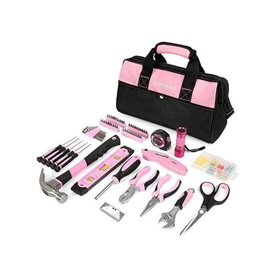 WORKPRO Pink Tool Kit