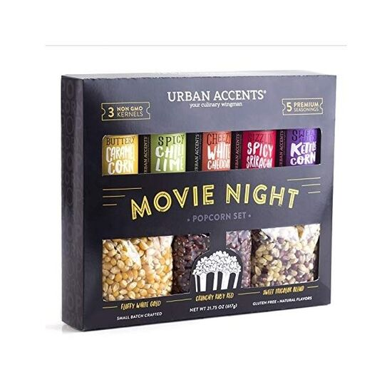 MOVIE NIGHT™ Popcorn Set