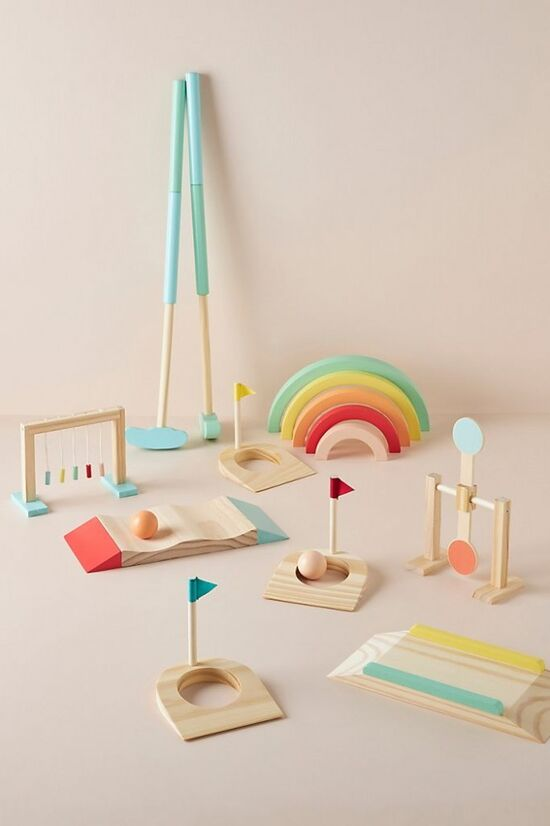 Kids Mini Golf Toy Set