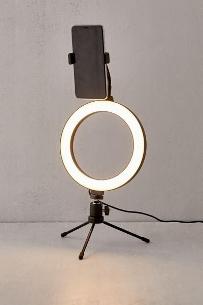 Desktop Vlogging Ring Light