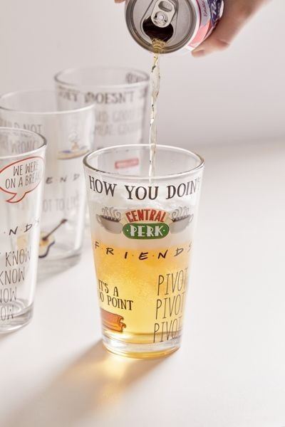 Friends Pint Glass Set