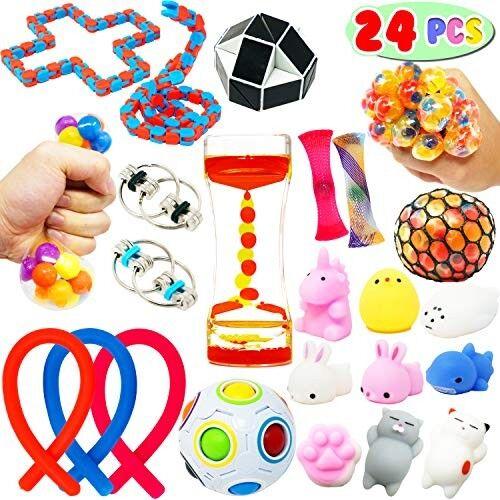 AMAZON-Sensory Fidget Stress Relief Calming Toys