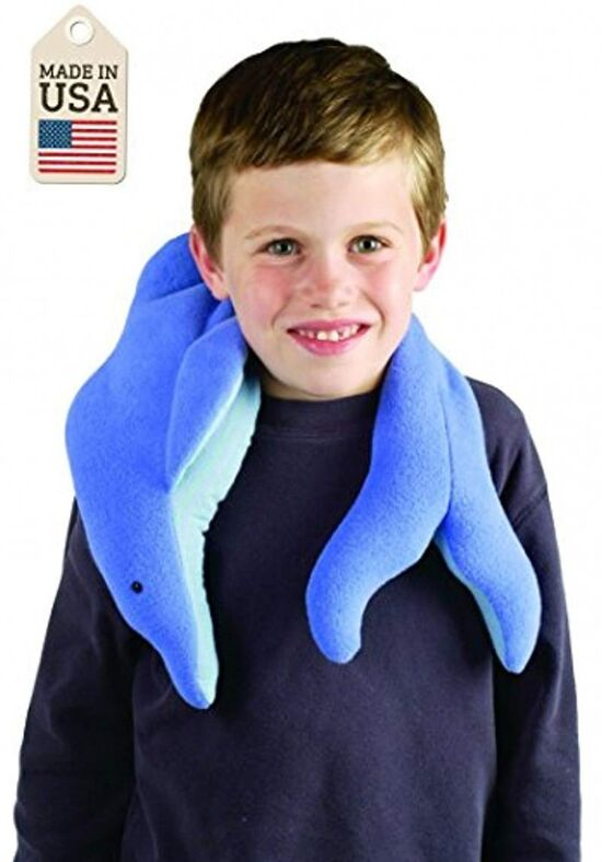 AMAZON-Weighted Washable Dolphin Wrap