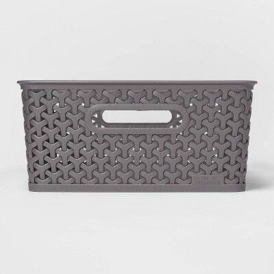 TARGET Y-Weave Medium Rectangle Bin - Room Essentials™