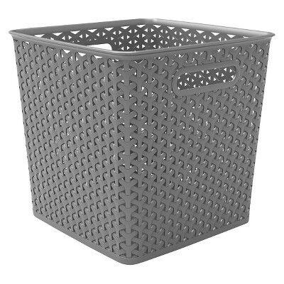 """TARGET-Y-Weave Basket Bin 11"""" - Room Essentials™"""