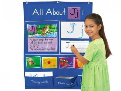 LAKESHORE All About Letters Pocket Chart