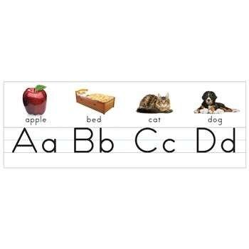 K12 SCHOOL SUPPLIES Printing Alphabet Alphabet And Number Sets by Eureka: Alphabet Lines: K12SchoolSupplies.net