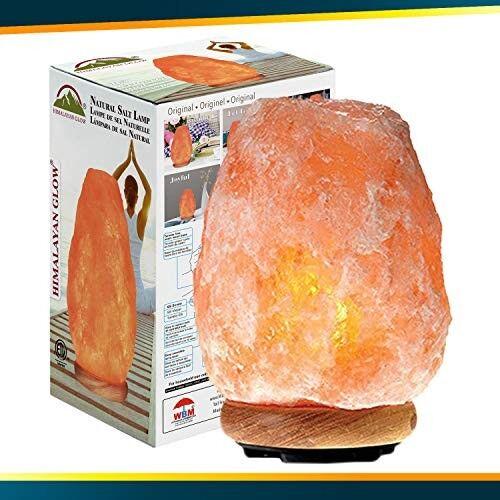 Himalayan Glow 1002 Pink Crystal Salt Lamp (8-11 lbs)