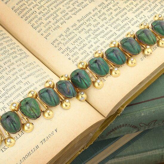 Victorian Beetle Bracelet - FD Gallery