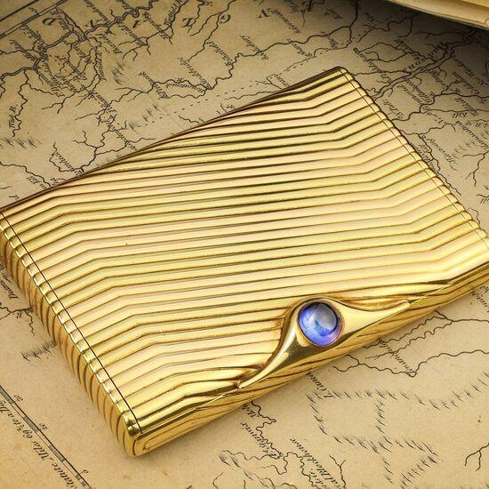 Bulgari Gold and Sapphire-set Case - FD Gallery