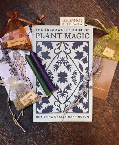 Treadwell's Book of Plant Magic (signed) Bundle | Treadwells