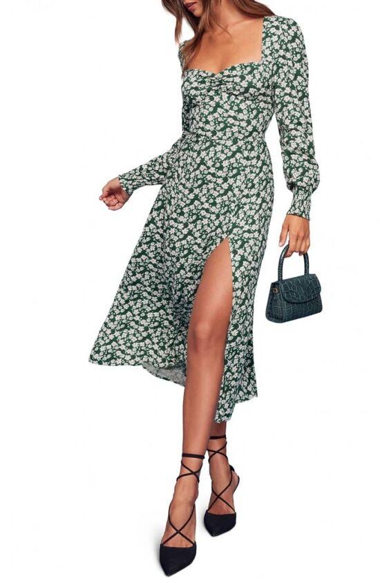 Reformation Wallflower Midi Dress | Nordstrom