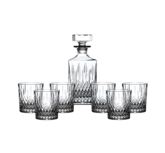 Earlswood Whiskey Tumbler, Set of 6 with Decanter | Royal Doulton