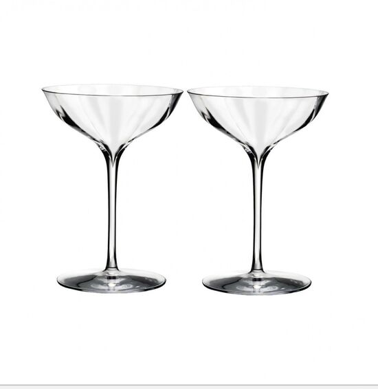 Waterford Elegance Optic Belle Coupe Pair