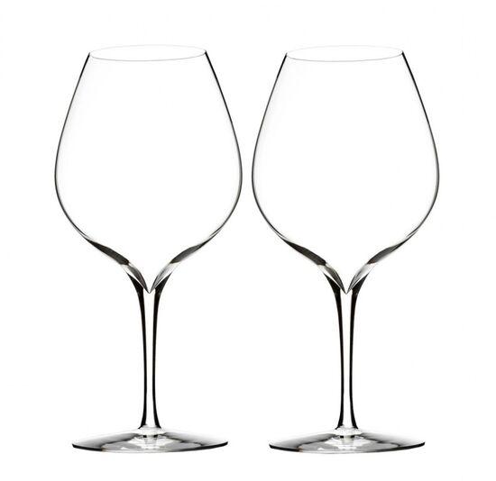 Waterford Elegance Merlot Wine Glass Pair