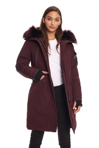 VEGAN DOWN LONG PARKA