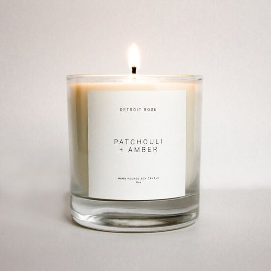 Detroit Rose Candle