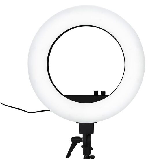 18-Inch DuoTone LED Vanity Studio Ring Light with Stand, Bag and Accessories - Impressions Vanity Co.