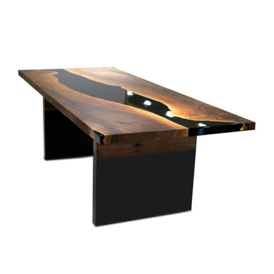 Walnut Solid Wood Dining Table