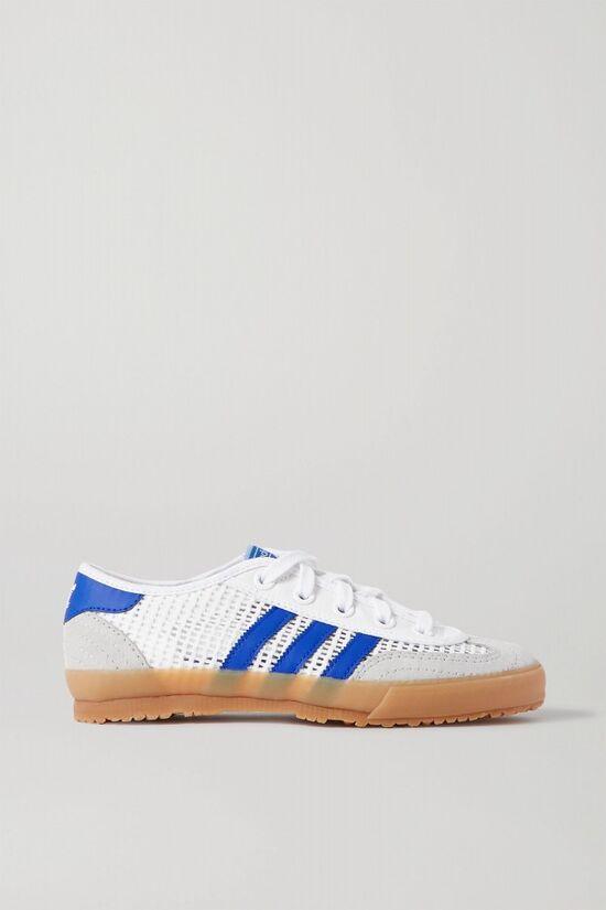 ADIDAS ORIGINALS Tischtennis mesh, suede and leather sneakers