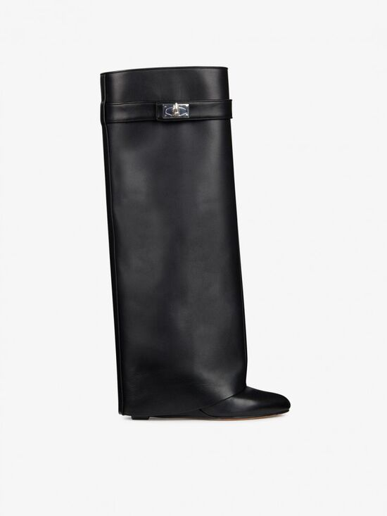 SHARK LOCK BOOTS IN LEATHER