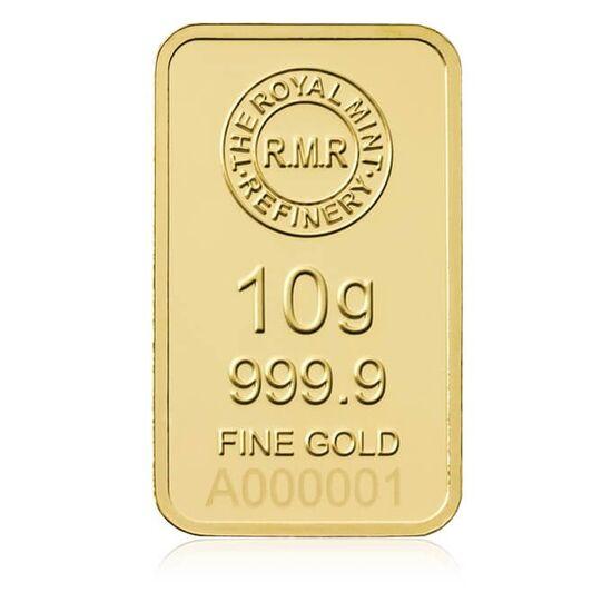 10g Gold Bar Minted Bullion