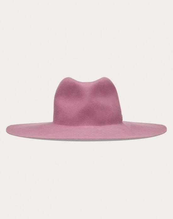 VLogo Signature wide-brim hat