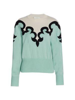 Zimmermann - Ladybeetle Intarsia Sweater