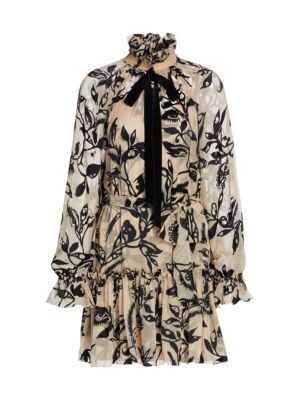 Zimmermann - Ladybeetle Ruffled Mini Dress
