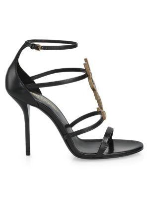 Saint Laurent - Cassandra Leather Sandals