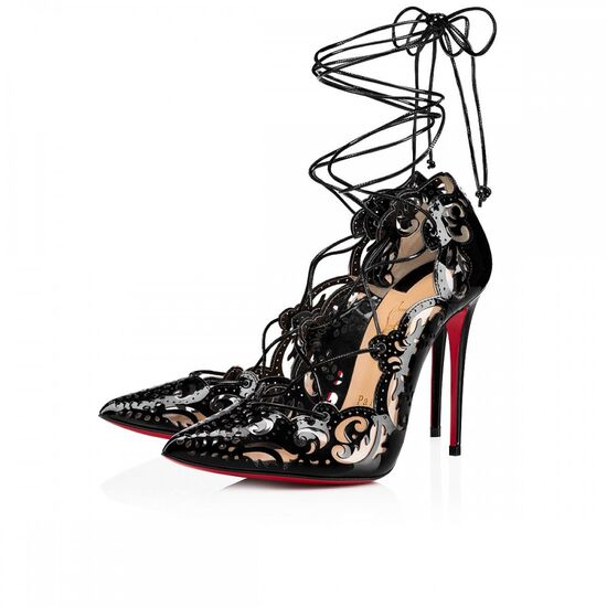 IMPERA 100 BLACK PATENT LEATHER - Women Shoes - Christian Louboutin