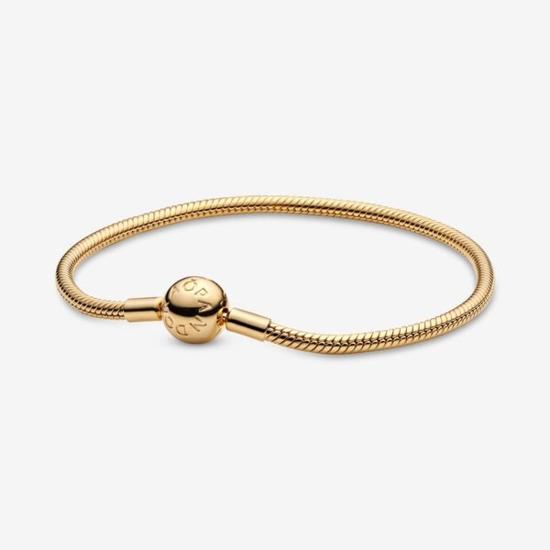 Pandora Shine™ Smooth 18k Gold-Plated Bracelet
